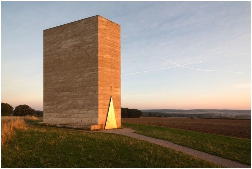 architecture moderne de chapelle bruder