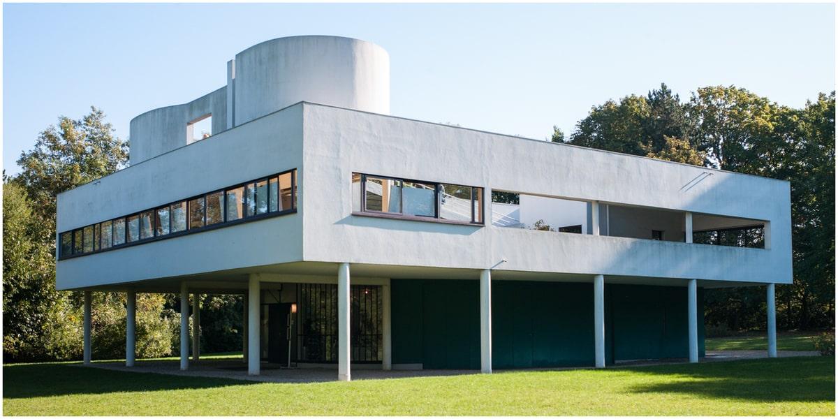 architecture moderne du villa savoye