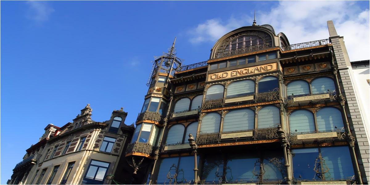 architecure de l'art nouveau de l'old England