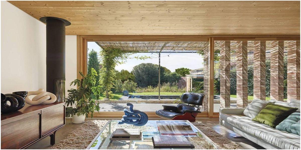 concept de l'architecture ecologique d'une maison en espagne